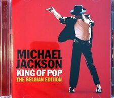 x2 CD ALBUM MICHAEL JACKSON KING OF POP THE BELGIAN EDITION RARE COLLECTOR 2008