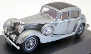 Oxford Diecast 1/43 Scale Model Car 43JSS007 - SS Jaguar 2.5L - Gunmetal