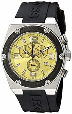 Swiss Legend Men's 30025-07-BB Throttle Chronograph Yellow Dial Watch