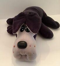 Vintage 1985 Pound Puppies Tonka #7805 Plush Dog Gray Husky Used Condition