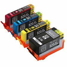 4 X Ink for HP 920XL CN684WN CN685WN CN686WN CN687WN Printer 5510 6510 6512 H/Y