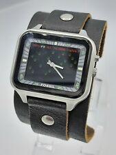 Fossil BG1021 big Tic men's Atari rare unique watch BG-1021 ana/digi  5 ATM