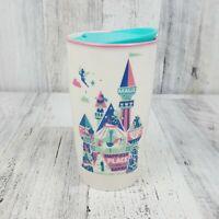 New Starbucks Disneyland Park Happiest Place on Earth Ceramic White Tumbler Mug