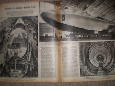 Photo article aircraft building the Hughes Hercules 4 1945