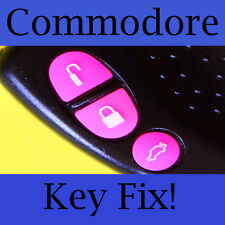 Holden Commodore Key Buttons VS VT VX VY VZ Pink Set