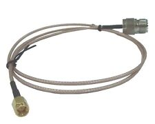 """SMA Male To UHF Female SO-239 36"""" Patch Cable for HT to base or mobile Antenna"""