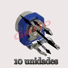 10 Potenciometro Horizontal 470 Ohm 1/2 W  Resistencia Variable ajustable