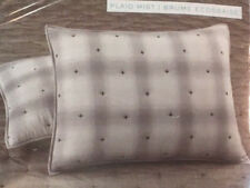 Martha Stewart Standard Pillow Sham - Plaid Mist