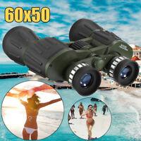 60x50 Day/Night Military Zoom Binoculars Telescopes Optics Hunting Camping BAK4