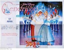 CENDRILLON ! walt disney  affiche cinema geante 4x3m animation
