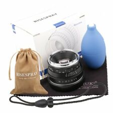 35mm F/1.6 Large Aperture Manual Focus MF Lens for Canon-EF-M EOS M1/2/3/5/6