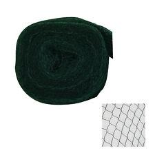Silagenetz 10x25m schwarz grün Vogelschutznest Teichnetz Reiherschutznetz