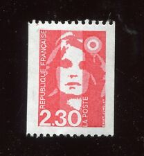 timbre Marianne 2,30 Francs . neuf . roulette