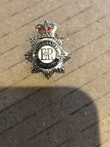 Nottinghamshire Police Pin / lapel badge -20mm