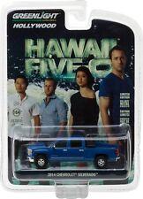 GREENLIGHT 2014 CHEVROLET SILVERADO HAWAII FIVE O 2010 TV SERIES 1/64 CAR 44760E