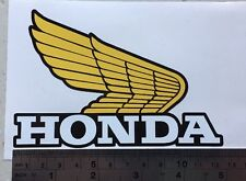 Honda CR XL XR TL TLR 50 125 250 wings for petrol tank left and right (1 pair)