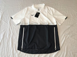 Nike Zip baseball Coaches Lightweight Jacket Black White CI4479-107 Size Medium