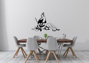 Dirty Queen inspired Design Banksy Home Decor Wall Art Decal Vinyl Sticker