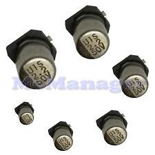 5x  2.2uF 50V SMD Electrolytic Capacitor 105C 20% 4x5.mm