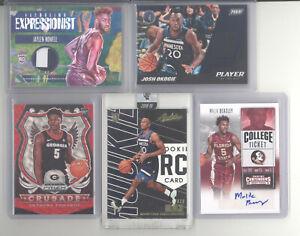 Minnesota Timberwolves auto jersey serial # RC 10 card lot Anthony Edwards