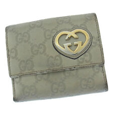 Auth Gucci W Hook Wallet Gucci Shima Women''s used J6550