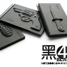 Weapons/Armed Notebooks, The best notebooks ever made, Pack of 3, Unique