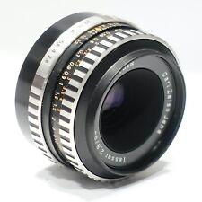 Carl Zeiss Jena Tessar 50mm lens, Zebra ver. fits Pentax M42 camera mount