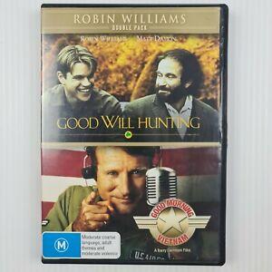 Good Will Hunting / Good Morning Vietnam DVD - 2-Disc Set - R4 - TRACKED POST