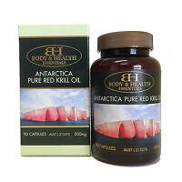 Body & Health Antarctica Pure Red Krill Oil 500mg 90 Capsules