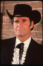 JAMES GARNER THE NEW MAVERICK RARE ORIGINAL COLOR 1978 NBC TV PHOTO TRANSPARENCY
