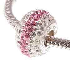 Pink Crystal Costume & Charm Bracelets