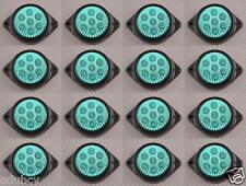 16x 7 LED 12V INDICATORE LATERALE VERDE LUCI AUTO SUV Camper 4X4 PICK-UP