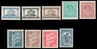Portugal 1933-1941 Portugal GROUP MNH/MLH #561-568a (one LH)