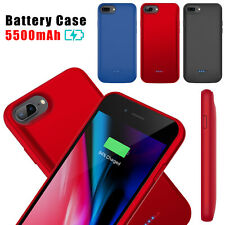 For iPhone 6/6s/7/8 Plus Battery Charging Case External Backup Power Bank Cover