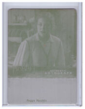 2015 The Hobbit Desolation of Smaug PEGGY NESBITT as SIGRID 1/1 PRINTING PLATE