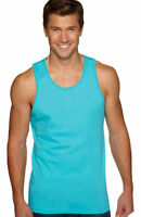 Next Level Men's Soft Self Fabric Jersey Tank Solid Tank Top S-2XL. 3633