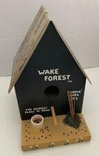 Vintage Wolftever Woods Collegiate Wood Birdhouse Wake Forest University