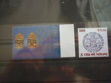 Vatikan 2 Marken  aus 2001 **  Michelwert 3,30 Euro