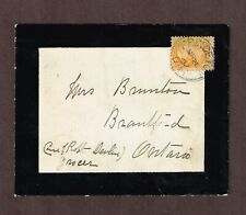 Canada 1897 1c SQ # 35, One cent printed matter Mourning cover.