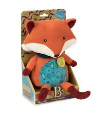 NEW B.Toys Pipsqueak Talk Back Plush Fox - Repeats back to you!