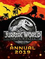 Jurassic World Fallen Kingdom Annual 2019 (Annua, UK, Egmont Publishing, New
