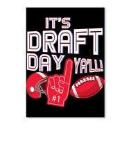 Fantasy Football Draft Day League Men Sticker - Portrait