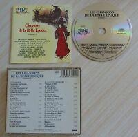 CD ALBUM LES CHANSONS DE LA BELLE EPOQUE VOL. 2 22 TITRES 1989