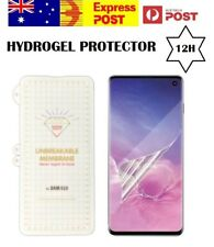 Screen Protector Hydrogel Film Full Samsung  Galaxy S10  S10 Plus S10e S10+