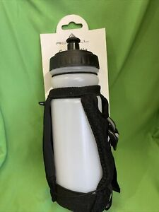 RonHill  Grip Bottle Clear/Black  600ml (A12)