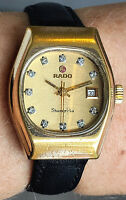 Ladies 1970s Swiss GP Rado Shangri La Watch Automatic 17J ETA 2671 Date Serviced