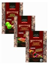 Best of the West Bbq Multi Flavored Smoking Wood Chunk Grilling Bundle (3 Pack)