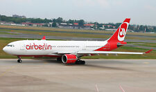 JC WINGS JC2198 1/200 AIR BERLIN AIRBUS A330-200 D-ALPA WITH STAND