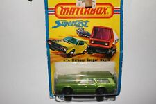 MATCHBOX SUPERFAST #74 MERCURY COUGAR COMMUTER STATION WAGON, NEW IN PACK