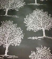 Glitter Wallpaper Sparkle Trees Embossed Luxury Modern Vinyl Black Shiny Silver